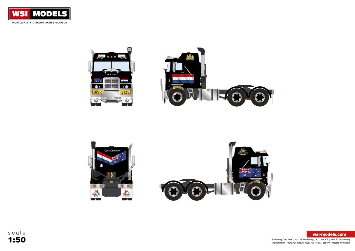 European Trucks Dhscast Collectables Inc