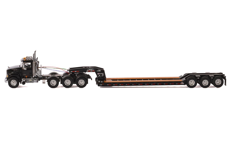 Mack Granite 8x4 W 3 Axle Rogers Lowboy