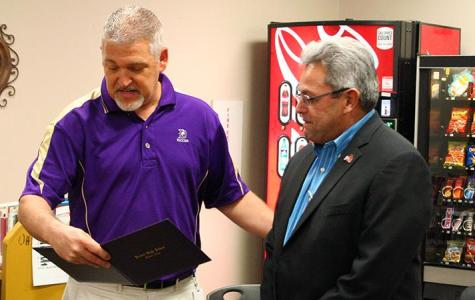Former Denton High student receives diploma after 39-year wait