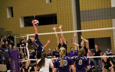 Volleyball takes first with win over Rider