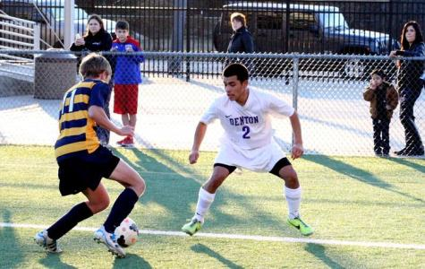 Denton goes top with 3-0 thrashing of Azle