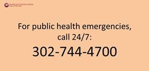 Public Health Emergency Number