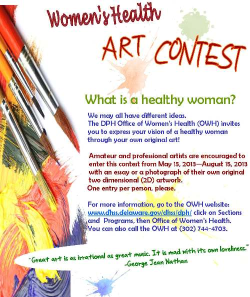 Office of Womens Health Art Contest