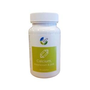 Calcium, Magnesium en Zink tabletten