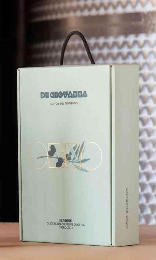 ゲルビーノオーガニックエクストラバージンオリーブオイルギフトボックス3本500ml
