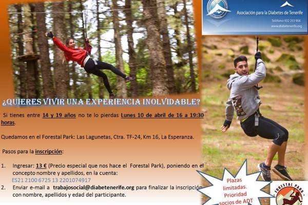 Vente al Forestal Park con nosotros
