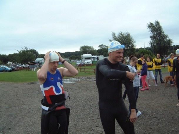 Wild Boar half ironman triathlon