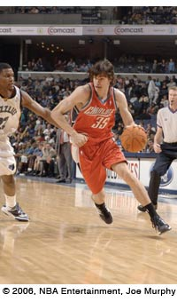 Flashback Friday: Adam Morrison Above the Rim With Basketball and Diabetes Control