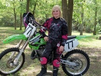 Molly Martin, Motocross Racer