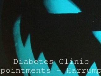 Diabetes Clinic Appointments – Harrumph…