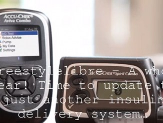 #freestylelibre – A whole year! Time to update to just another insulin delivery system…
