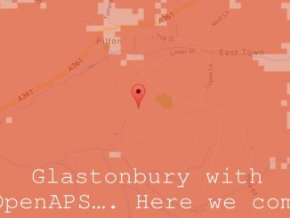 Glastonbury with #OpenAPS…. Here we come!
