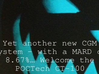 Yet another new CGM system – with a MARD of 8.67%… Welcome the POCTech CT-100
