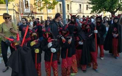 La Ràpita acull als Diables petits de Moja en la seva Festa Major