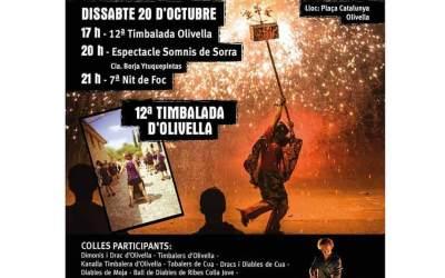 7a nit de foc a Olivella