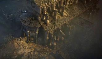 Meteor Falling Wallpaper Cathedral Diablo Wiki