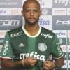Melo se apegou aos números para apagar fama de violento. Foto: Cesar Greco/Agência Palmeiras