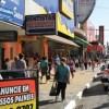 Comercio varejista da região refletiu o impacto da crise econômica. Foto: Eberly Laurindo
