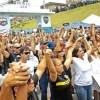Em Vitória, houve cortejo em homenagem a um policial morto. Foto: Joel Silva/Folhapress