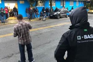 Sindicatos mobilizaram trabalhadores nas portas das fábricas. Foto: Divulgação/SQABC