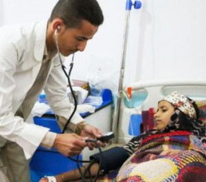 A epidemia no Iêmen já é considerada a crise mais grave de cólera do mundo. Foto: Unicef/Divulgação