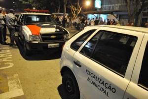 programa verifica horário de funcionamento dos bares no município e controla a emissão de sons em bares e similares. Foto: Marcos Luiz/PMD
