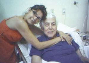 """Vera Lúcia e  Dr. Napoleão: """"perdemos um pai"""". Foto: Arquivo pessoal"""