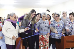 Fundo social de solidariedade de Diadema inaugura mais um polo da Escola de Moda