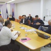 Vereadores do ABC participam de reunião sobre a Linha 18-Bronze