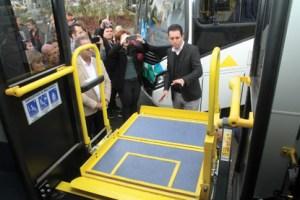 Santo André entrega 15 novos ônibus na primeira etapa de renovação da frota
