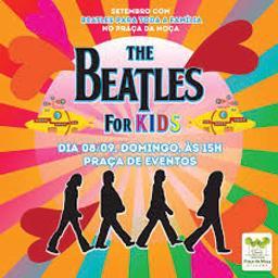 Beatles para Crianças se apresenta no Shopping Praça da Moça