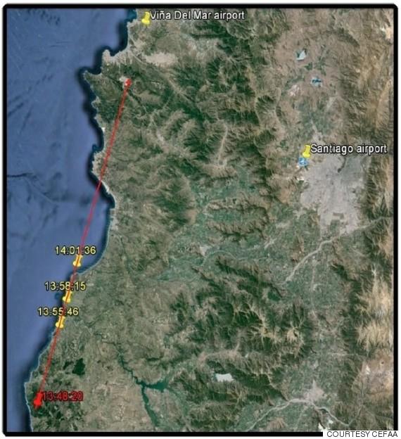 Πρωτοφανές UFO δημοσιοποίησε το Π.Ν. της Χιλής (video)
