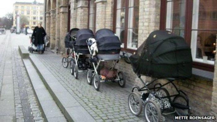 Γιατί οι Σκανδιναβοί αφήνουν τα καρότσια με τα μωρά έξω στο πολικό κρύο;