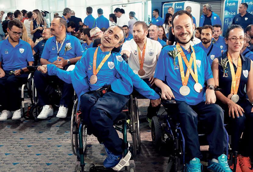 Με 13 μετάλλια επέστρεψαν οι Ελληνες Παραολυμπιονίκες από το Ρίο