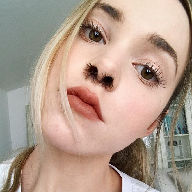 Αποτέλεσμα εικόνας για Nose hair extensions