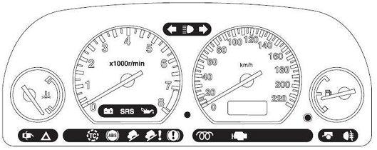 Freelander Mk1 Car Warning Lights