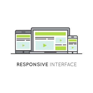 funzionalità responsive interface