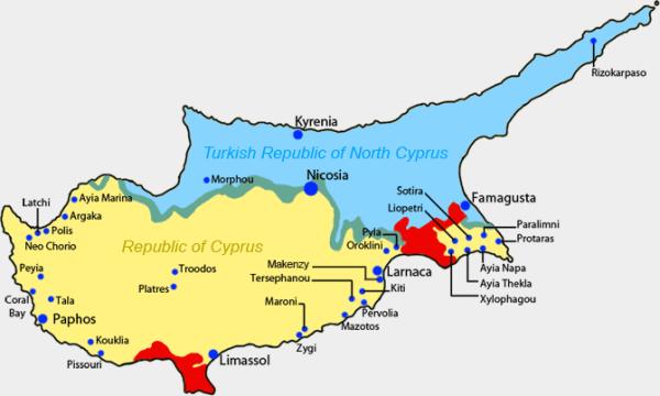 Οι έξι ημέρες που έκοψαν την Κύπρο στα δύο Διακόνημα