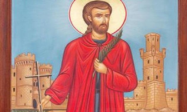 Αποτέλεσμα εικόνας για άγιοσ κωνσταντίνοσ ο υδραίοσ νεομάρτυρασ