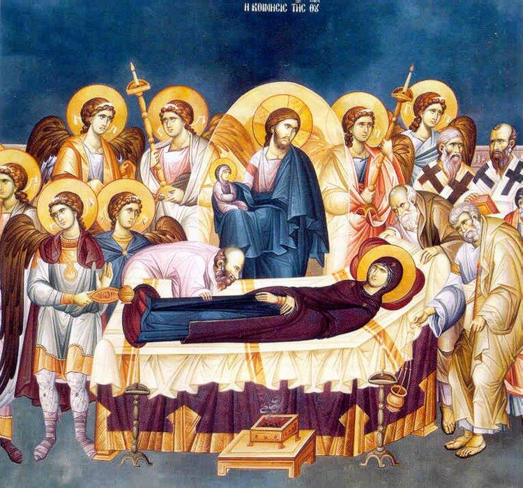 Αποτέλεσμα εικόνας για κοιμησις της θεοτοκου
