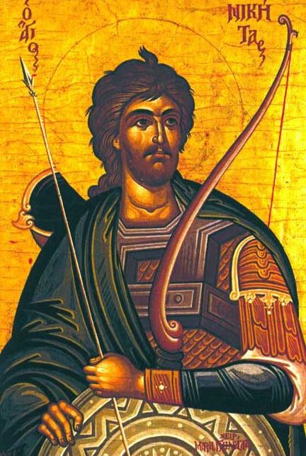 Αποτέλεσμα εικόνας για αγιος νικητας γοτθος