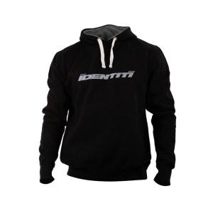 Identiti finger print logo hoodie