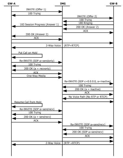 sip call flow diagram well pressure switch wiring media attribute support hold resume