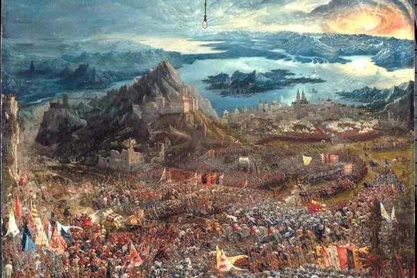 La batalla de Issus (1529), Albrecht Altdorfer