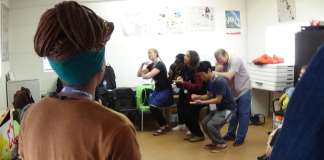 Cradle of Creativity Focus Day, held in the township of Vrygrond, was on the theme of Theatre for Social Change
