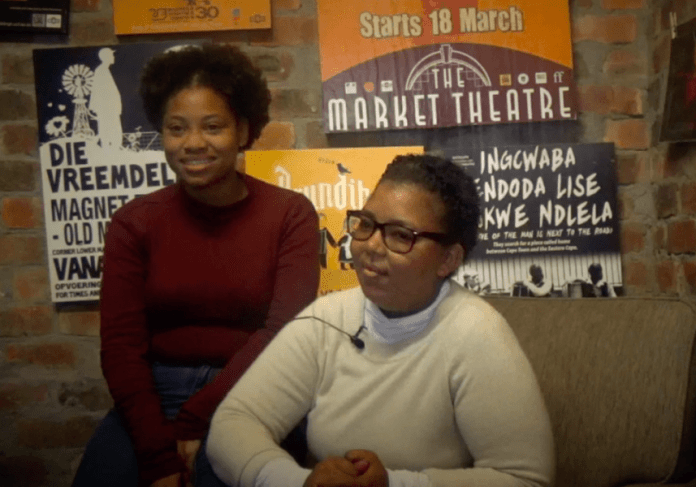 Beviol Swartz and Rozanne Holland Discuss Training at Magnet Theatre