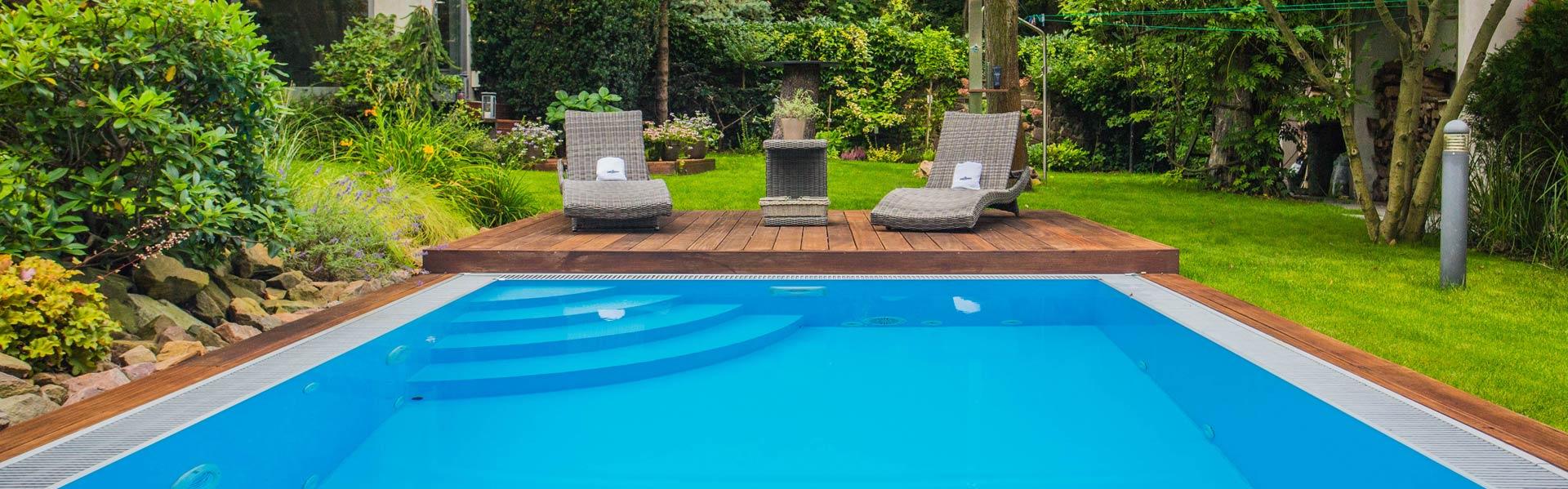 Schwimmbecken Diamant, Poolüberdachungen, Whirlpool