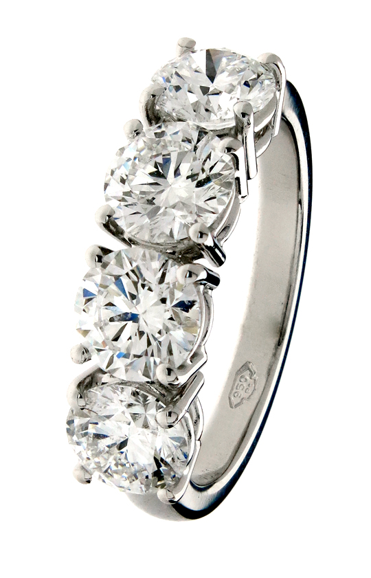 Traditional  Modern Style Eternity Rings custom made at
