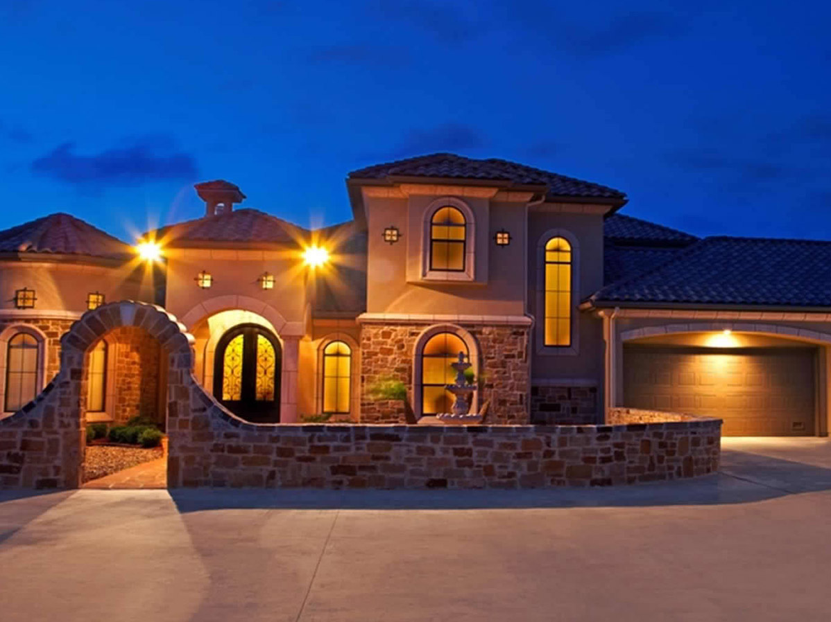 Tuscan Chateau Diamante Custom Homes
