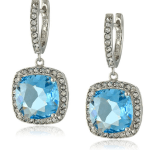 Swarovski Crystal, and Clear Crystal Dangle Earrings Sale